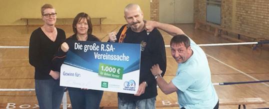 1.000 € Spende von Radio R.SA