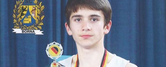 Nuradil Utsumiev ist Deutscher Meister